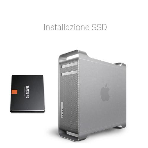 Velocizzare Mac Pro con SSD Potenziare