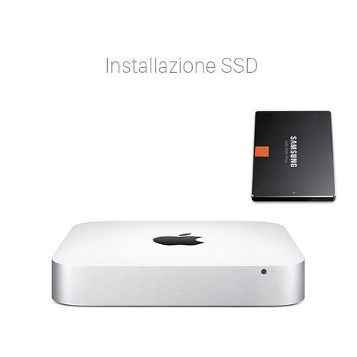 Velocizzare Mac Mini Potenziare con SSD