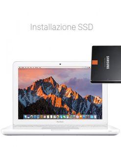 Velocizzare MacBook 13 Bianco con SSD Potenziare