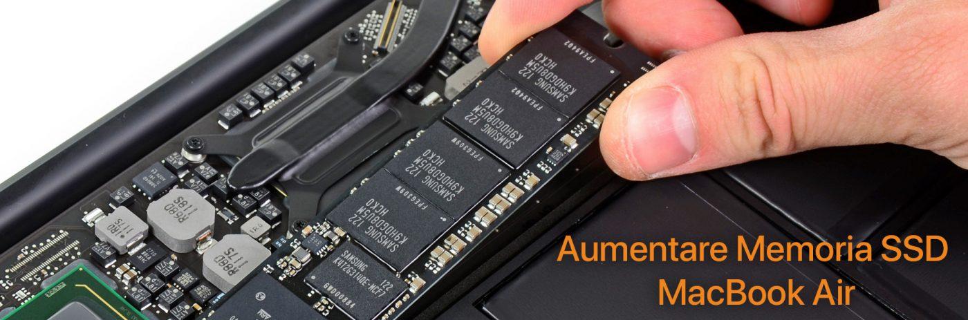 Cambiare Ssd Macbook Air Espandere Memoria Con Flashmacit