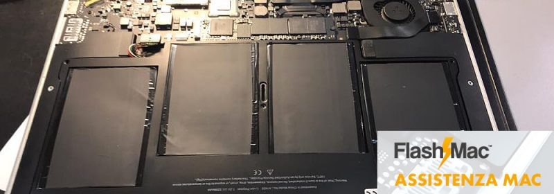 sostituzione batteria Mac Air